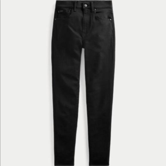 High Rise Polo Ralph Lauren Tompkins Skinny Jeans